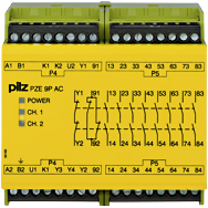 PZE 9P 24VACDC 24-240VACDC 8n/o 1n/c