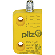 PSEN 2.1p-21/8mm/LED/1switch